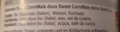 Maïs Doux - Ingredienti - it