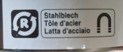 Fonds d'artichaut - Instruction de recyclage et/ou information d'emballage - fr