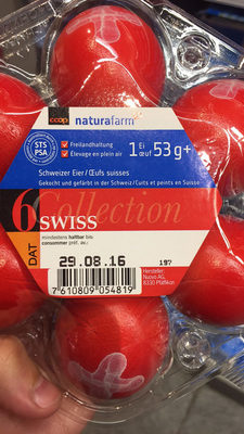 NaturaFarm: 6 Oeufs Suisses, Swiss collection - Ingredients