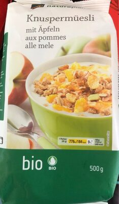 Knuspermüesli : aux pommes - Produit - fr