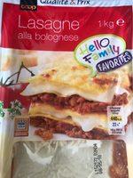 Lasagne alla bolognese - Prodotto - fr