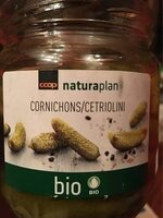 Coop Naturaplan Bio Cornichons - Product - fr