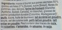 Petits pains aux poires - Ingrédients - fr