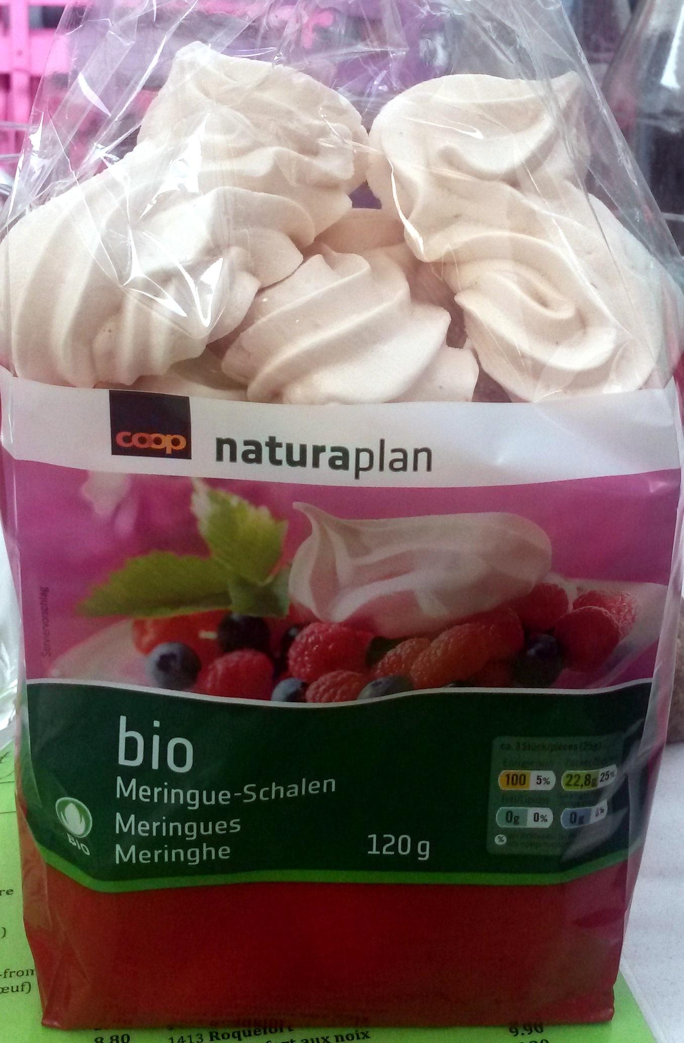 Naturaplan - Meringues bio - Prodotto - fr