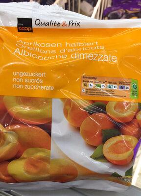 Qualité&Prix : Oreillons d'abricots non sucrés - Product