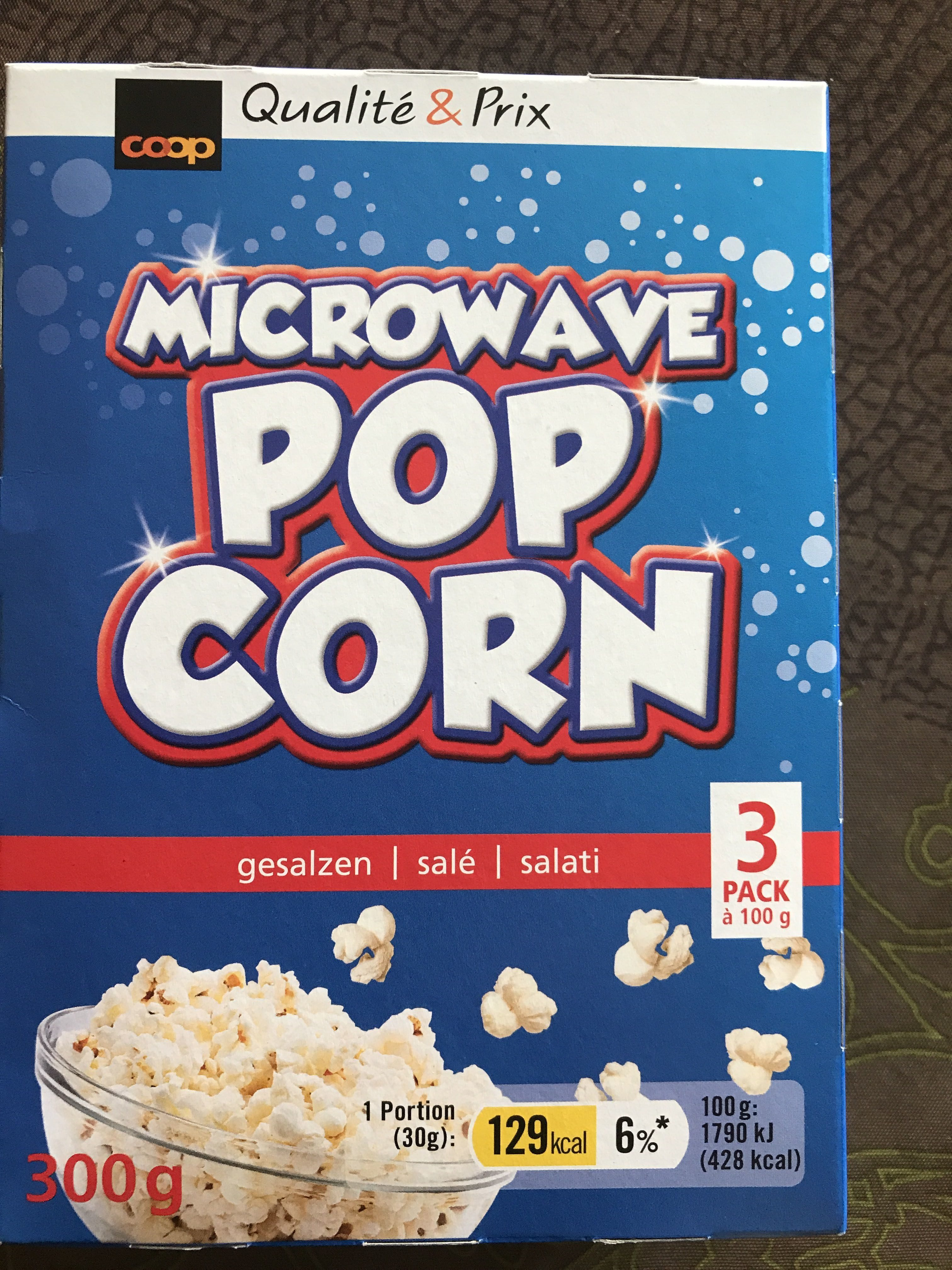 Pop corn - Produit - fr