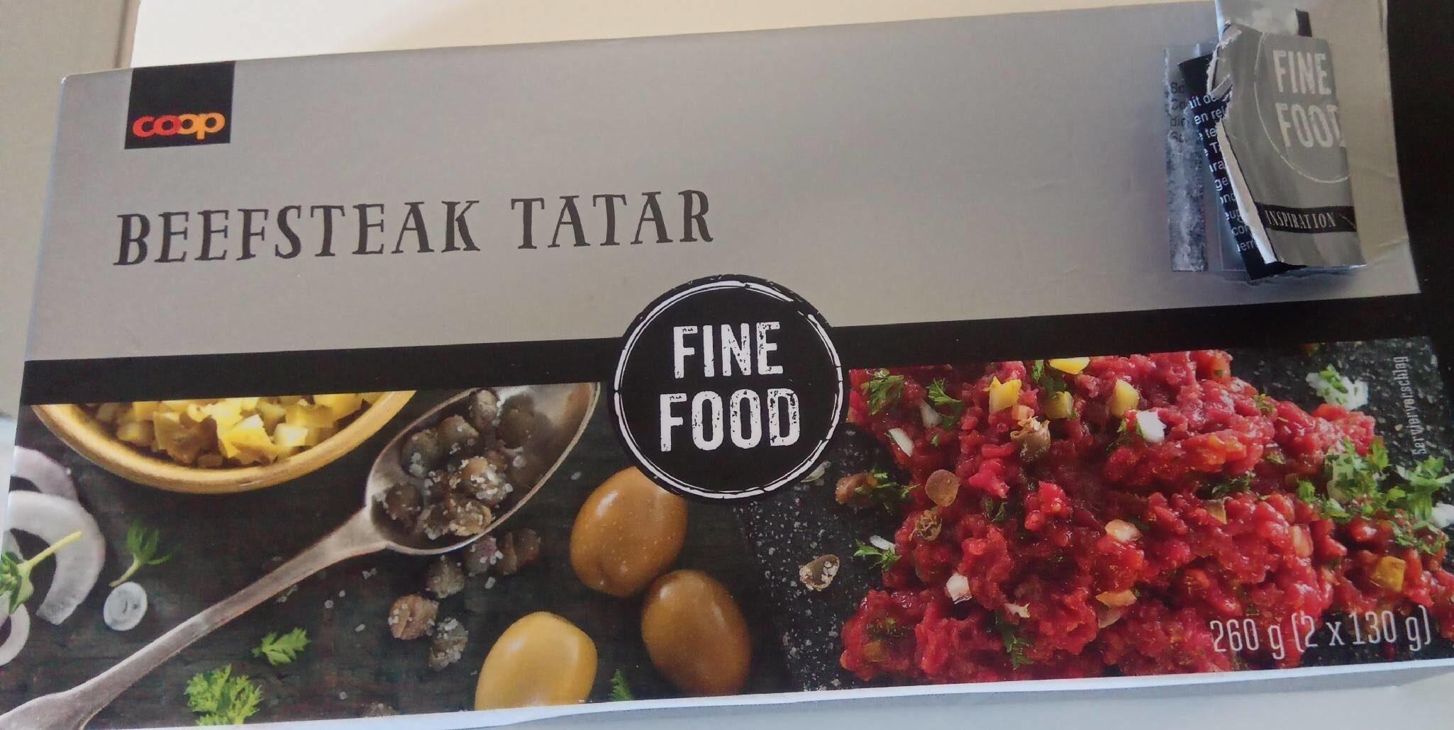 Beefsteak tartar - Prodotto - fr