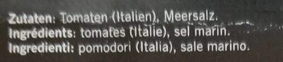 Pomodori Secchi Della Puglia | Tomaten getrocknet - Ingredienti - fr