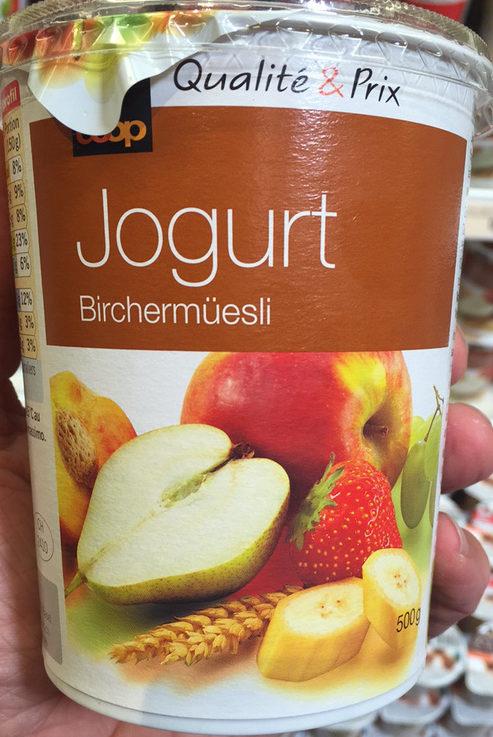 Jogurt Birchermüesli - Product