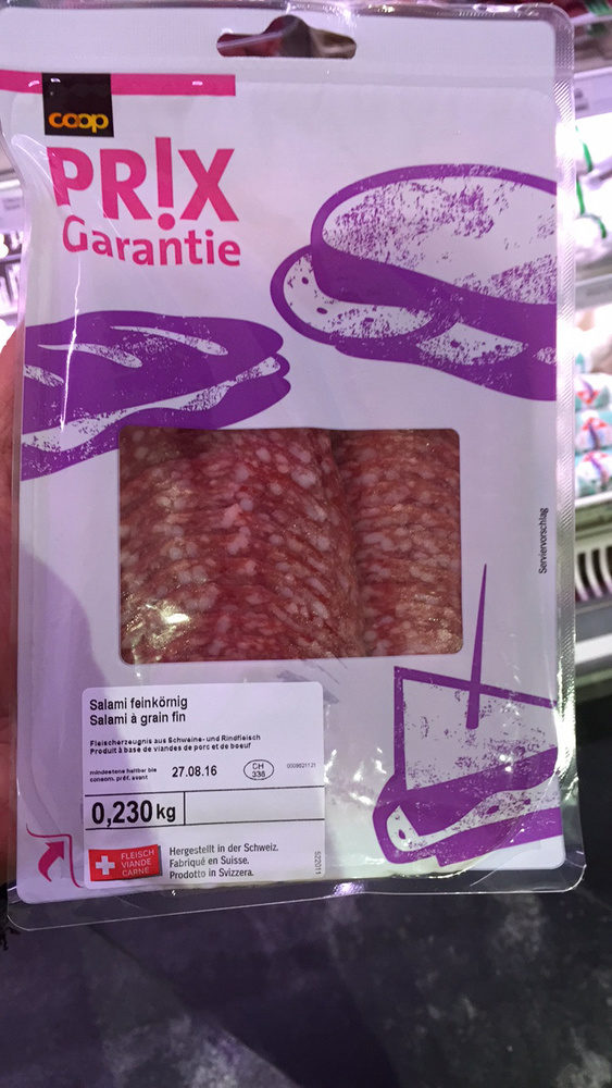 Salami feinkörnig - Produit - fr