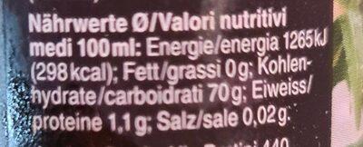 Coop Crema Di Balsamico - Informação nutricional - de