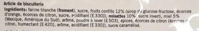 Leckerli - Ingredients - fr