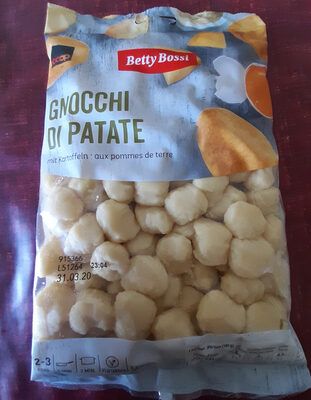 Gnocchi mit Kartoffeln - Produit - fr