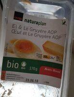 Sandwich oeuf et Le Gruyère AOP - Prodotto - fr