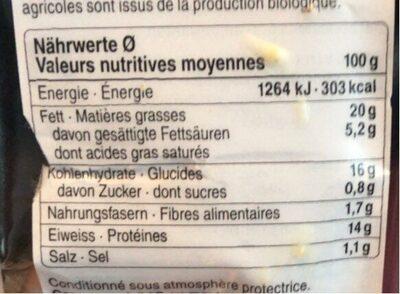 Sandwich oeuf et Le Gruyère AOP - Valori nutrizionali - fr