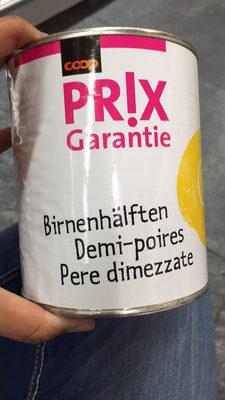 Demi-poires - Product