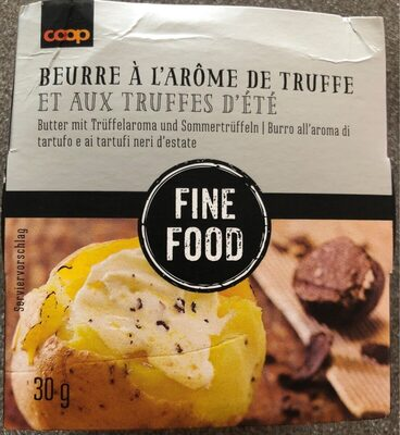 Beurre à l'arôme de truffe et aux truffes d'été - Prodotto - fr