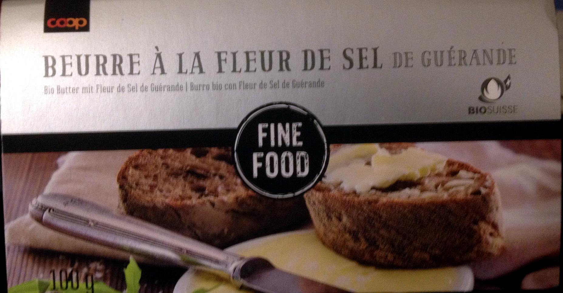 Beurre à la fleur de sel de Guérande - Prodotto - fr