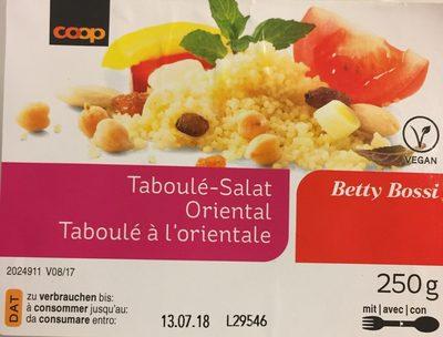 Coop Betty Bossi Taboulé salat Oriental - Produit - fr