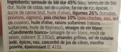 Coop Betty Bossi Taboulé salat Oriental - Ingrédients - fr