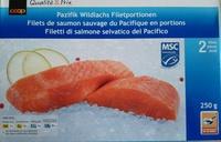 Coop Filets de saumon sauvage du Pacifique en portions - Produit