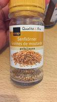 Graines de moutarde jaune - Product - fr
