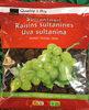 Raisins sultanines foncés - Produit