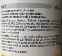 Sauce pour rôti instantanée - Ingredients