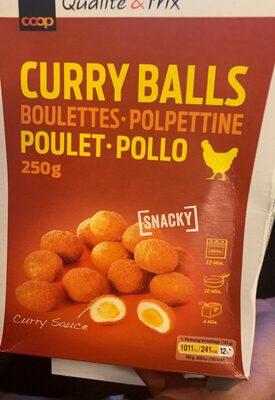 Curry Balls à l'huile de palme - Product