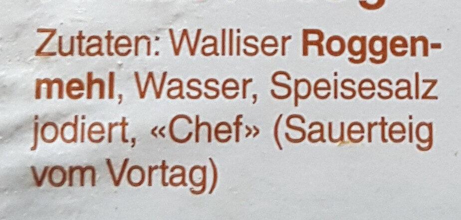 Simpilär Rogenbrot - Ingredients - de