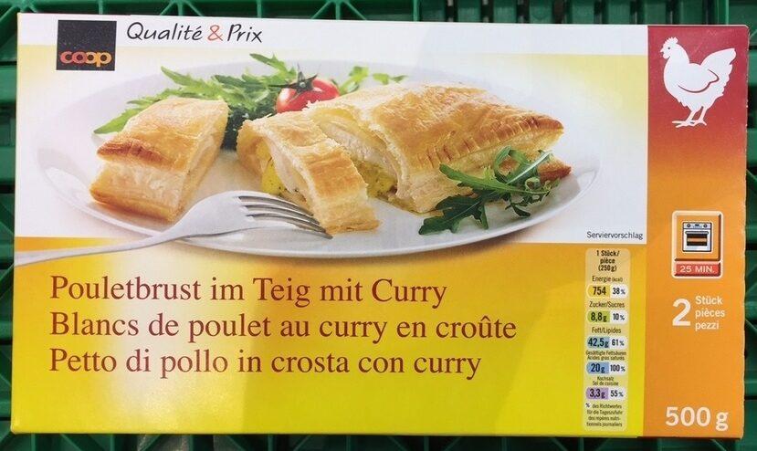 Blancs de poulet au curry en croûte - Product