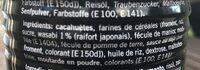 Erdnüsse Geröstet, Mit Wasabi - Ingredients - fr