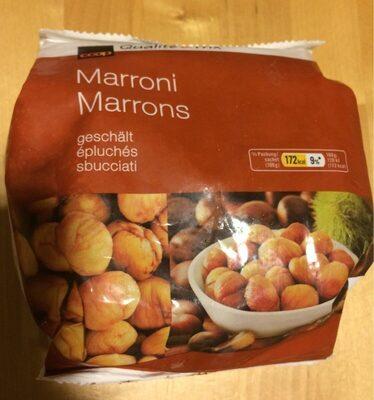 Marrons épluchés - Produit - fr
