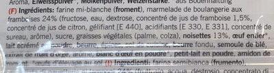 Linzerli à l'huile de palme - Ingredients