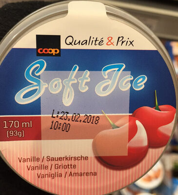 Soft Ice Vanille / Griotte - Prodotto - fr