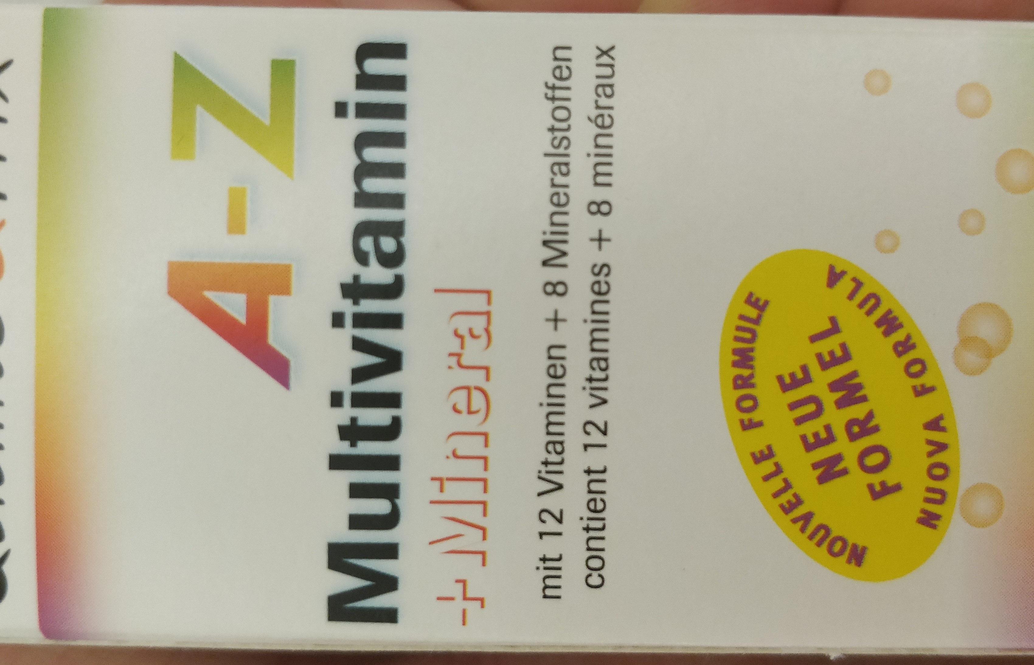 A-Z Multivitamin + Mineral - Produit