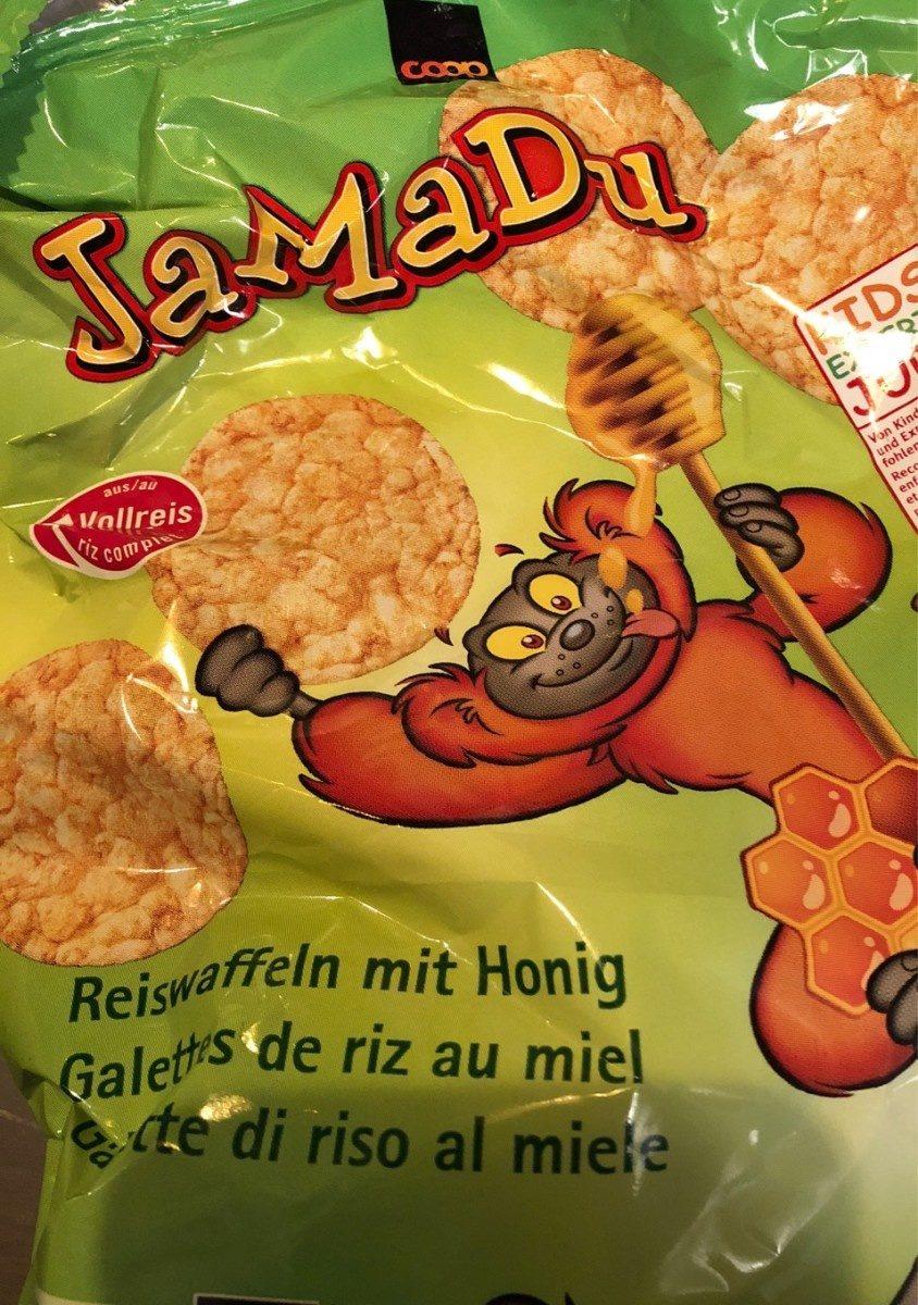 Jamadu galette de riz au miel - Produit - fr