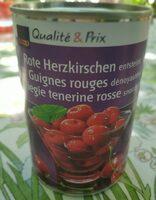 Guignes rouges dénoyautées - Produit - fr