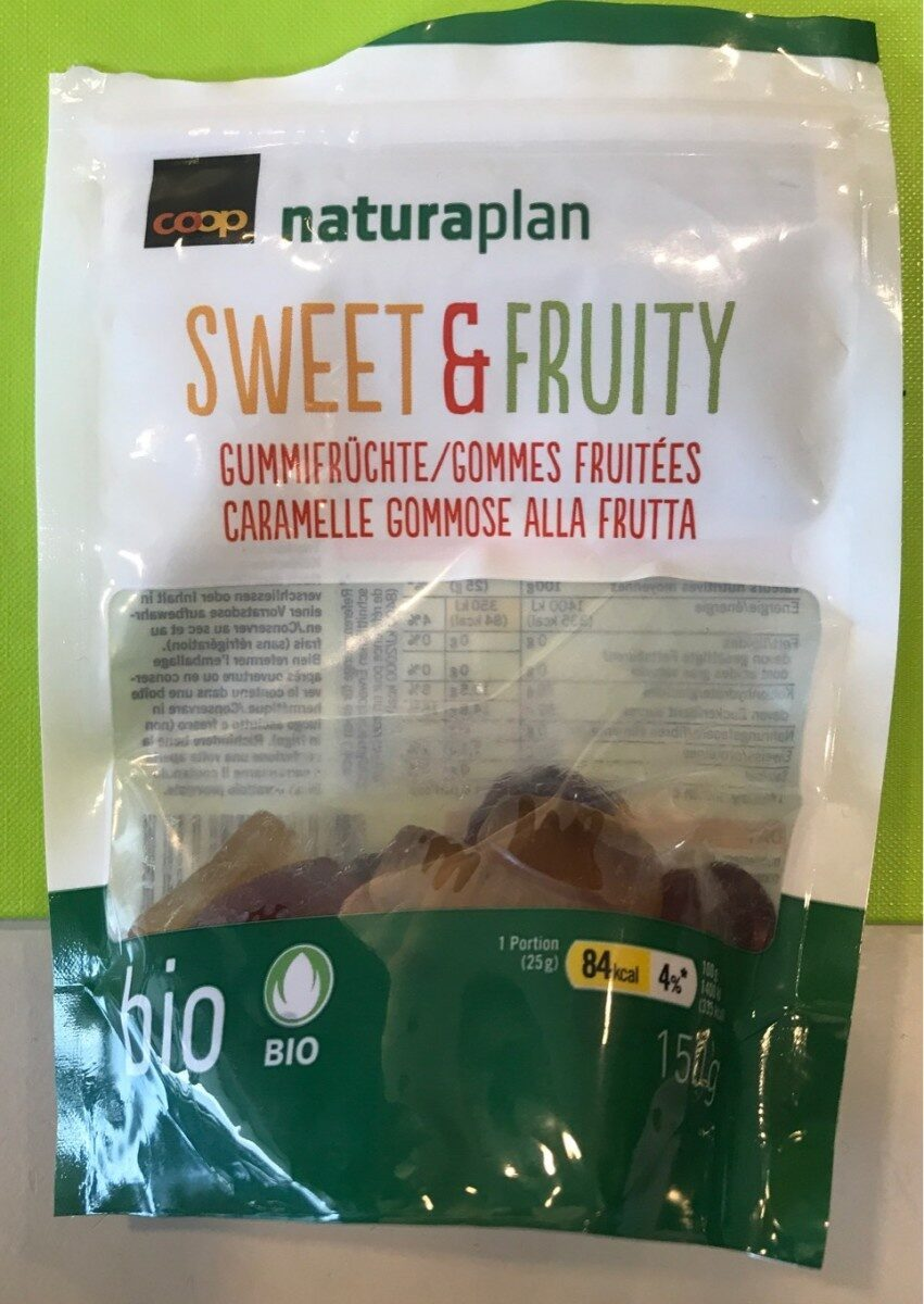 Sweet & Fruity - gommes fruitées - Product