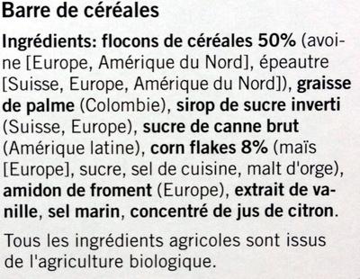 Bio Crunchy Nature - Ingredients
