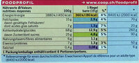 Bio Crunchy Nature - Nutrition facts