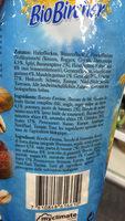 Bio Bircher Müesli - Ingredienti - fr