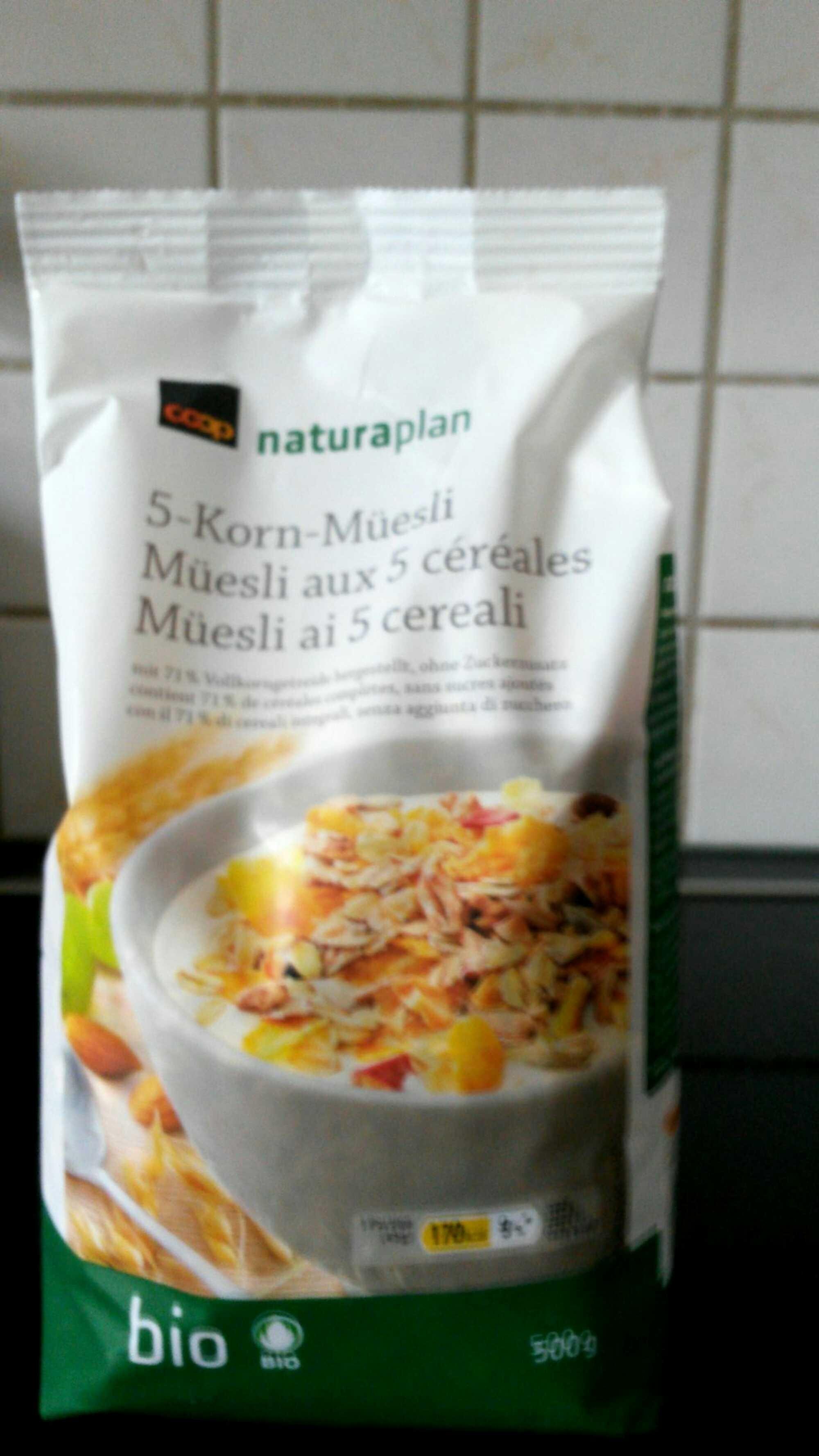 Müesli aux 5 céréales - Product - fr