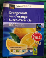 Qualité & Prix Jus d'orange - Product - fr