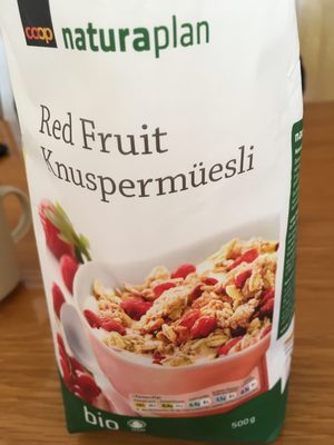 Red Fruit Knuspermüesli - Product - fr