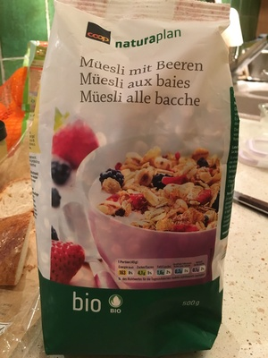 Muesli aux baies - Product - fr