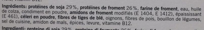 Délicorn NUGGETS - Ingrediënten - fr