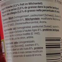 Jogurt Cerise - Ingredients - fr