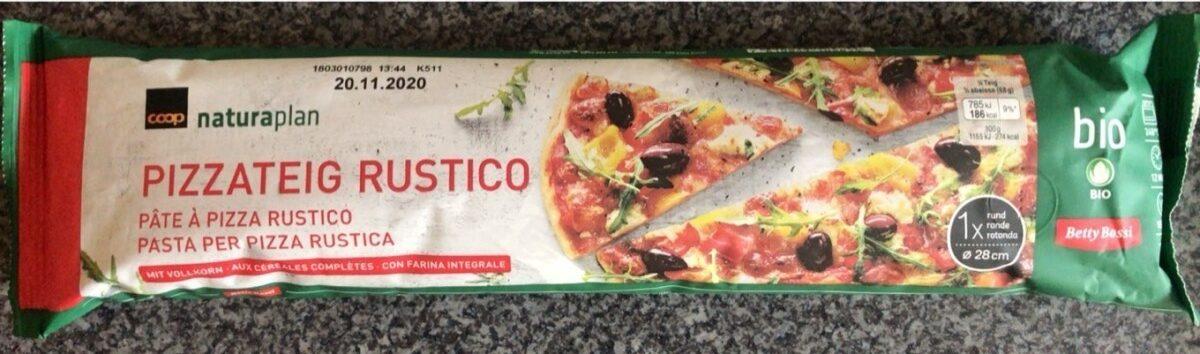 Pâte à pizza Rustico - Produit - fr