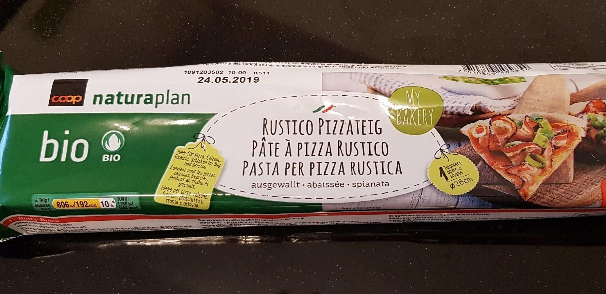 Rustico Pizzateig - Produit - fr